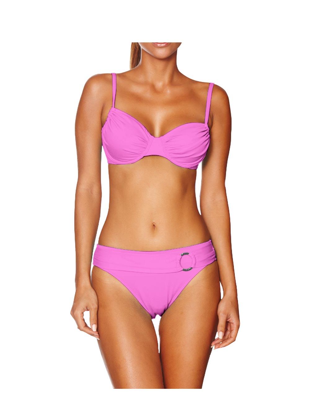 marken b gel bikini rosa cup c d gr 34 36 38 40 42 44 46 uvp ebay. Black Bedroom Furniture Sets. Home Design Ideas