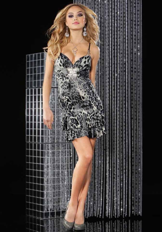 Kleid schwarz mit silber – Beliebte Abendkleider in Deutschland